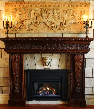 Fire place design in NJ ,  design company in Princeton .  ,